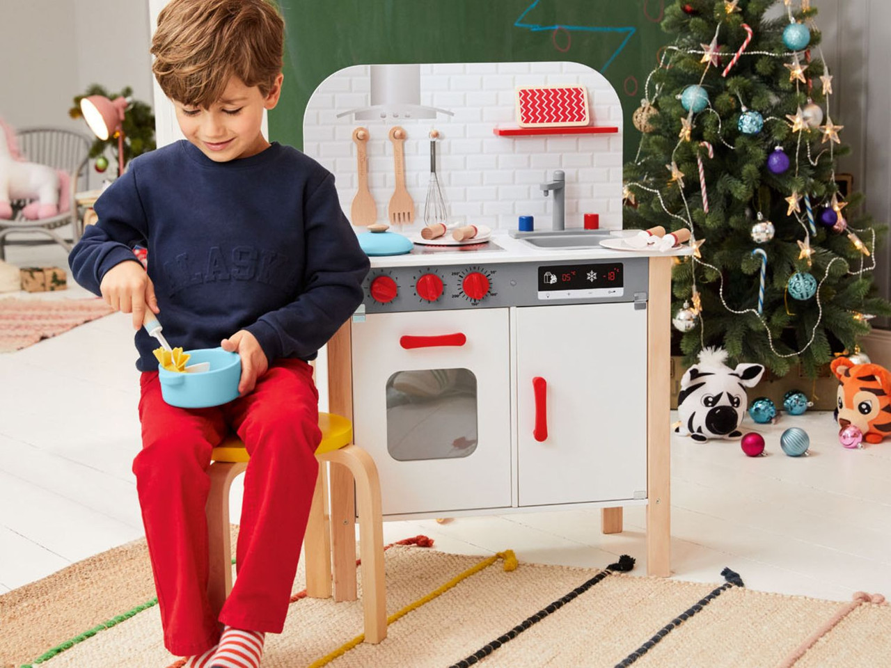 Детская деревянная кухня PlayTive Junior wood Германия