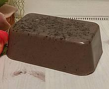 """Мыло-скраб ручной работы """"Молочный шоколад"""""""