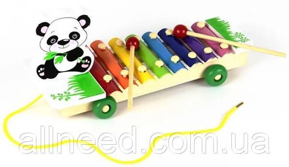 Деревянная игра 3057 Ксилофон (Панда)