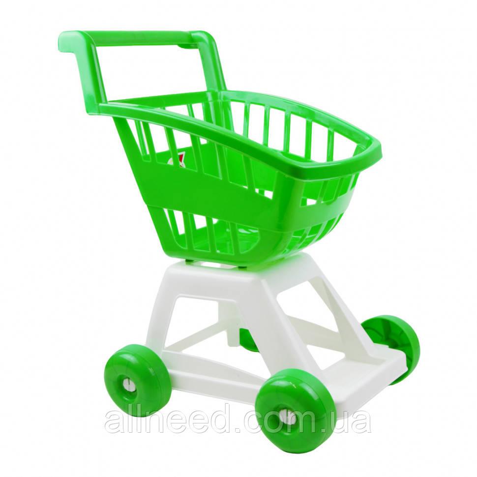 Игрушечная тележка для супермаркета