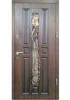 Двері вхідні з ковкою №13 модель 315, фото 1