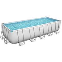 Bestway Каркасный бассейн Bestway 5612B (640х274х132 см) с песочным фильтром, лестницей и тентом