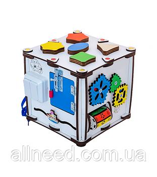 Кубик развивающий 22х22х23 с подсветкой К007