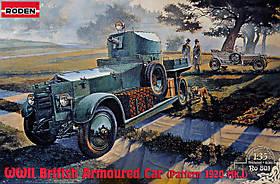 Pattern 1920 Mk. I. Сборная модель британского бронеавтомобиля в масштабе 1/35. RODEN 801