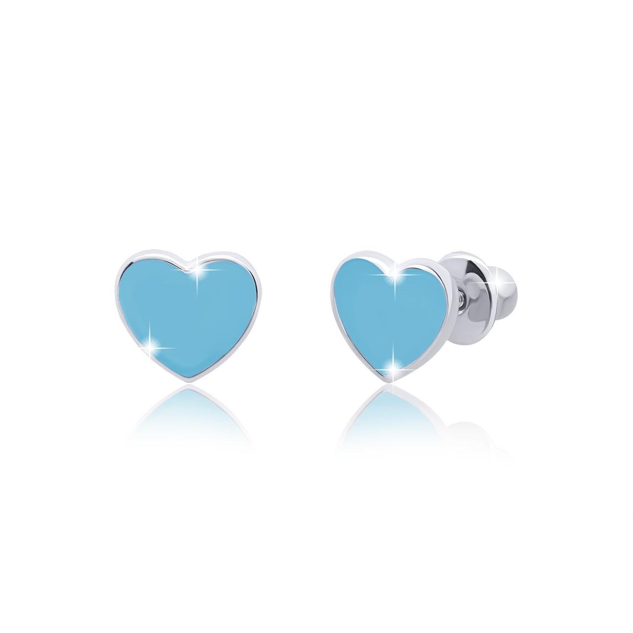 Пуссеты Сердце Голубое