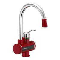 Проточный водонагреватель MIXXUS Electra 240-E Red (с индик. темп.) (MI2748)