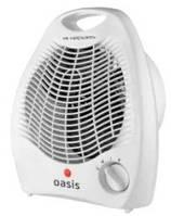 Тепловентилятор бытовой электрический OASIS SB-20R, портативный вентилятор, обогреватель для дома, дуйчик