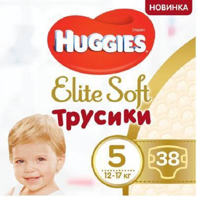 Подгузник Huggies Elite Soft Pants XL размер 5 (12-17 кг) Mega 38 шт (5029053547015)