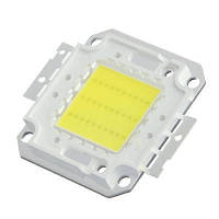 Светодиодная матрица белая 100Вт 10000лм 30-34В