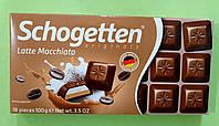 Шоколад Schogetten кофейно-кремовый молочный 100 г, фото 1