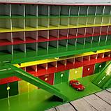 "Парковка для машинок Woodmax ""Гипер"" 135x38x56 см разноцветная, фото 2"