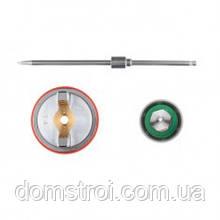 Комплект форсунки 1.4мм для краскопультов HVLP II PT-0100, РТ-0105, РТ-0105D INTERTOOL PT-2114