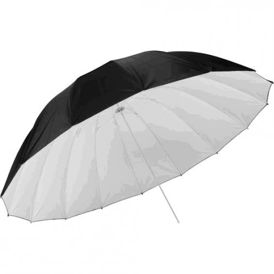 Фото зонт 101см серебристый, 40'' студийный