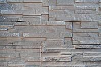 Гипсовая плитка Верона серая 335x90/165х90 (0,86 м. кв/уп)