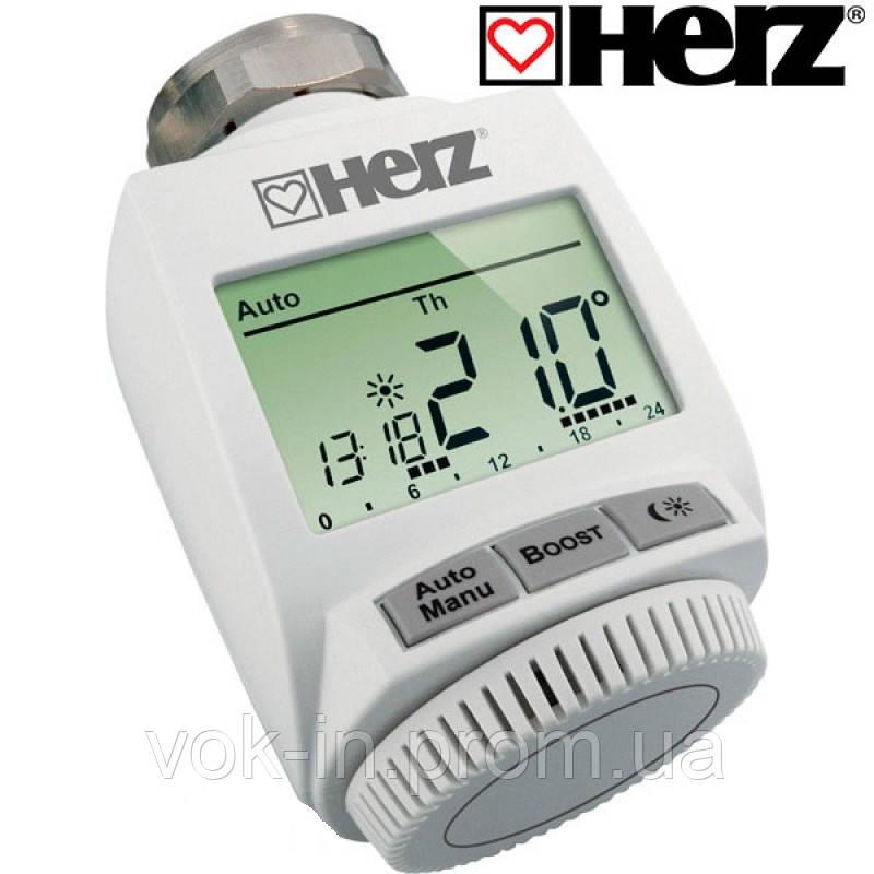 Термостатическая головка Herz ETKF+ с радиоканалом 1825101