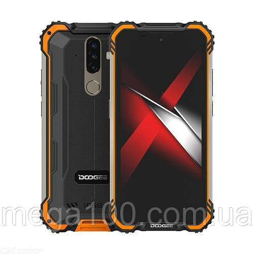 Смартфон Doogee s58 pro цвет оранжевый (экран 5.71 дюймов, памяти 6/64 Гб, батарея 5580 мАч)