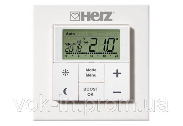 Характеристики Настенный термостат HERZ для дистанционного управления термостатическими головками ЕТКF+ 182510