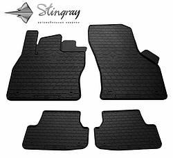 Резиновые коврики в автомобиль Volkswagen Golf VII 2013- (Stingray)