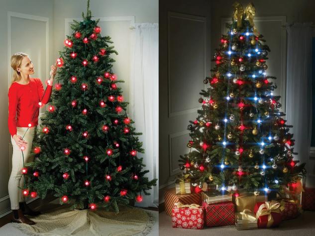 Новогодняя елочная гирлянда Tree Dazzler 48 Led лампочек