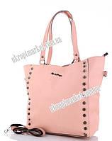 """Сумка женская 983-3 pink (30х32 розовый) """"David Polo"""" LG-1605"""