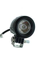 LED фара линза 10W \ 750Lm. Светодиодная лэд фара на бампер, под бампер, на крышу, задний ход. Диоды CREE