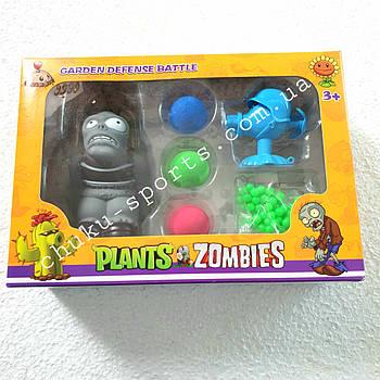 """Набор для стрельбы """"Зомби против растений"""" (Plants vs Zombies) в коробке 23*7,5*16,5см"""