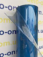 Пленка ПВХ текстильная 250мкм.150см*62м(93 м2). Прозрачная. Для пошива косметичек, чехлов. (Силикон)
