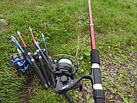 Спиннинг SBVN 2.1м с катушкой EF200 4bb в сборе на хищника для блеснения + ПОДАРОК