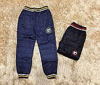 Балоневые брюки  для мальчиков F&D 4-12 лет