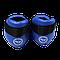 Фути (киксы) Reyvel для єдиноборств вініл сині (р-рЅ-XL), фото 4