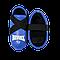 Фути (киксы) Reyvel для єдиноборств вініл сині (р-рЅ-XL), фото 3