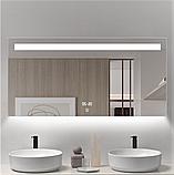 Зеркало DUSEL LED DE-M3021 80смх65см сенсорное включение+подогрев+часы/темп, фото 5