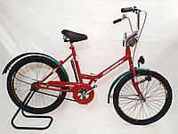 """Складной велосипед Sigma 24"""" красный, фото 1"""