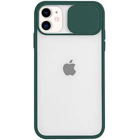 "Чохол Camshield mate TPU зі шторкою для камери для Apple iPhone 11 (6.1 "")."