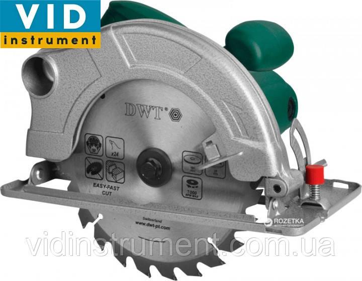 Дисковая пила DWT HKS-12-63 (1200Вт, 190 диск)