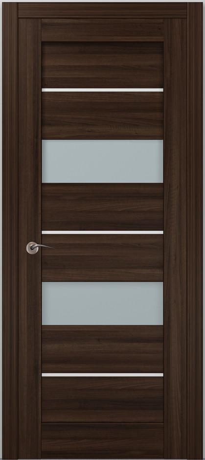 Двері Папа Карло, Полотно+коробка+2 до-та лиштв+добір 100мм, Millenium, модель ML-41 AL