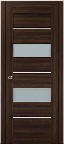 Двері Папа Карло, Полотно+коробка+2 до-та лиштв+добір 100мм, Millenium, модель ML-41 AL, фото 2