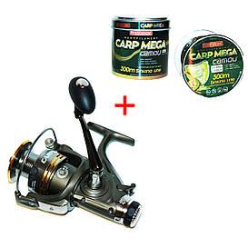 Котушка Fishing ROI Carp XT 6000 (6+1) з бейтраннером