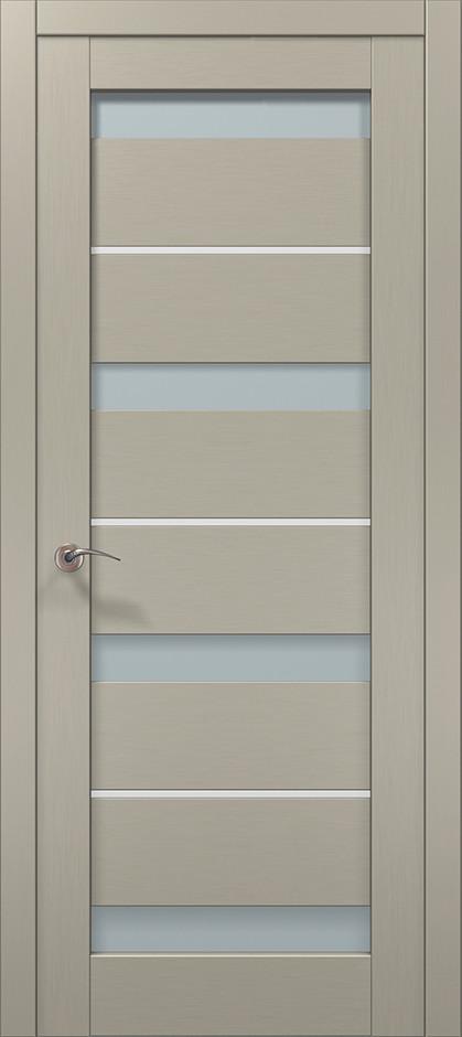 Двері Папа Карло, Полотно+коробка+ 2к-та лиштв+добір 100мм, Millenium, модель ML-43 AL