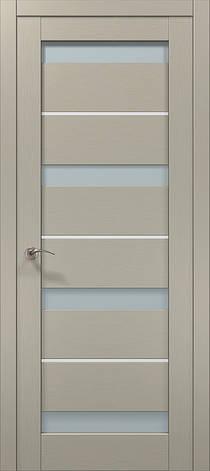 Двері Папа Карло, Полотно+коробка+ 2к-та лиштв+добір 100мм, Millenium, модель ML-43 AL, фото 2
