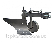 Плуг для мотоблока ZIRKA-61 (ОПОРНОЕ КОЛЕСО, короткая РАМА) (ПЛ9)