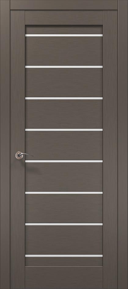 Двери Папа Карло, Полотно+коробка+ 1 к-т наличников, Millenium, модель ML-44 AL