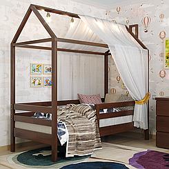 Кровать-домик детская деревянная Домик Джерри