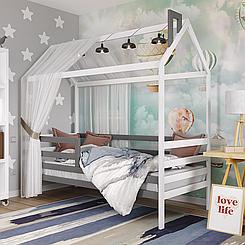 Кровать детская деревянная Домик Том
