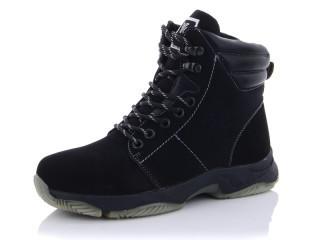 Ботинки детские Башили-2766-01 черные (раз.с 32 по 37)