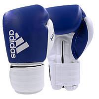 "Боксерские перчатки Adidas ""Hybrid 200"" (сине/белый, ADIH200)"