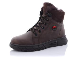 Ботинки детские Башили-2765-05 коричневые-(раз.с 32 по 37)