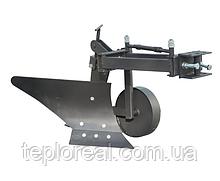 Плуг для мотоблока ZIRKA-105 (ОПОРНОЕ КОЛЕСО, КОРОТКАЯ РАМА), (ПЛ10)