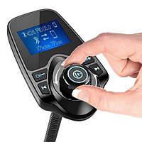 FM трансмиттер модулятор  MP3 Bluetooth T10