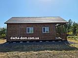 Дачний будинок 6*10 з терасою, фото 8